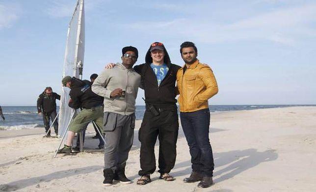 Bollywood nad Bałtykiem. Hinduski reżyser kręci film