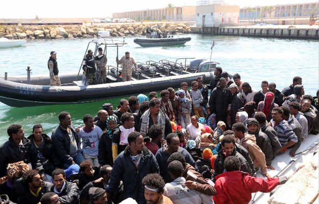 To największa od dłuższego czasu operacja ratowania imigrantów na Morzu Śródziemnym