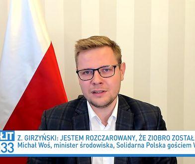 """Rekonstrukcja rządu. Polityk ostro o Zbigniewie Girzyńskim. """"Powygadywał wiele głupot"""""""