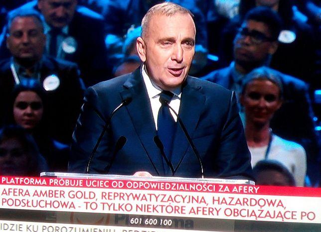 Wystąpienie Grzegorza Schetyny w TVP Info wyglądało inaczej niż w innych telewizjach