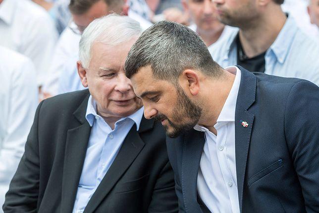 Krzysztof Sobolewski to od lat zaufany współpracownik Jarosława Kaczyńskiego