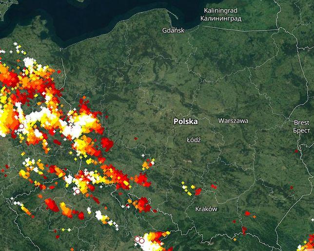 Gdzie jest burza? Ostrzeżenia IMGW dla zachodniej i ...