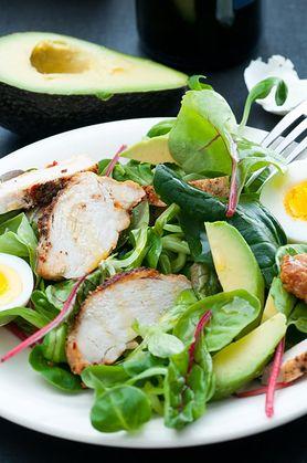 Lęk, depresja i zmęczenie mogą być skutkiem ubocznym jedzenia sałatek