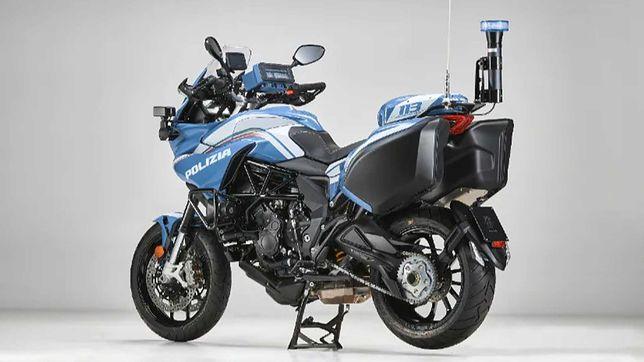 MV Agusta Turismo Veloce dla włoskiej policji