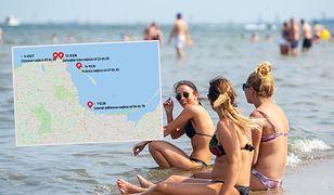 Niektóre plaże Zatoki Gdańskiej będą zamknięte - turyści powinni na bieżąco sprawdzać informacje