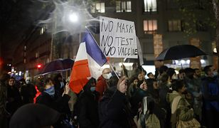 Francja. Demonstracje i aresztowania w Paryżu