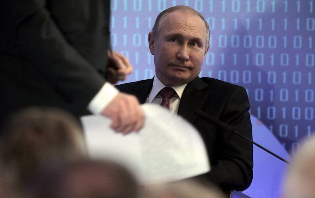 Zniknięcie Putina może mieć związek z nalotem USA w Syrii
