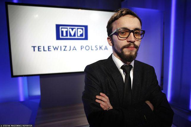 Samuel Pereira, szef portalu TVP.Info