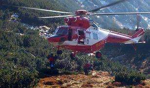 Akcja ratownicza TOPR w Tatrach