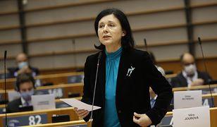 """Vera Jourova o sytuacji w Polsce. """"Wydarzenia są bardzo niepokojące"""""""