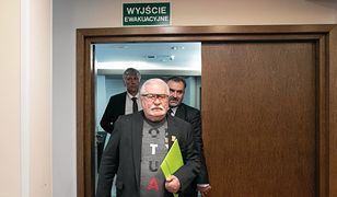 Sławomir Cenckiewicz zagroził Lechowi Wałęsie sądem. Jest reakcja b. prezydenta