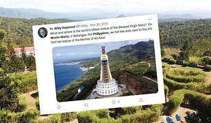 Wybudowano największą figurę Matki Bożej na świecie. Monument robi wrażenie