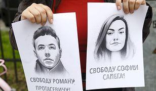 Porwanie samolotu przez Białoruś. Rodzice Ramana Pratasiewicza błagają o pomoc