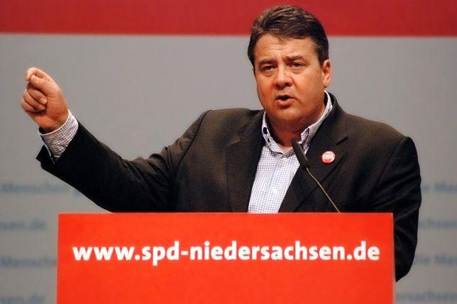 Minister spraw zagranicznych Niemiec Sigmar Gabriel