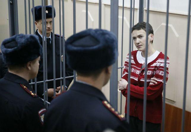 Rosyjskie media: Nadia Sawczczenko złagodziła głodówkę