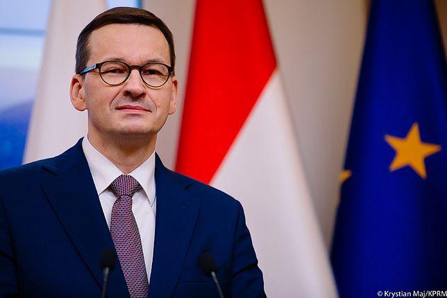Szczepionka na COVID-19 już w Polsce. na zdjęciu: premier Mateusz Morawiecki