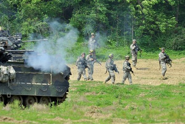 Wspólne ćwiczenia żołnierzy USA i Korei Południowej