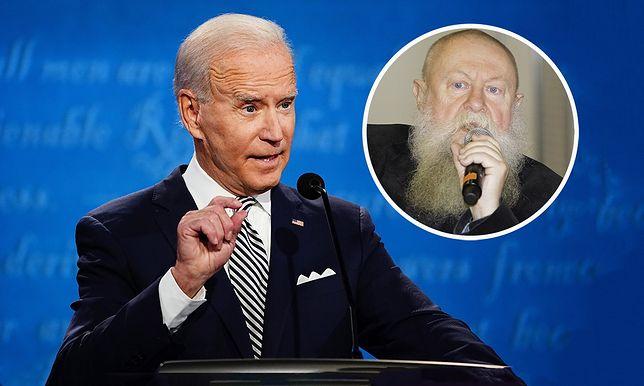 Debata prezydencka USA. Prof. Jerzy Bralczyk komentuje wypowiedzi Joe Bidena i Donalda Trumpa