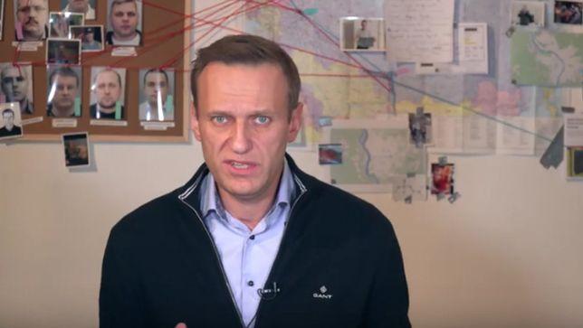 Na kanale Youtube Nawalny opublikował półgodzinny film
