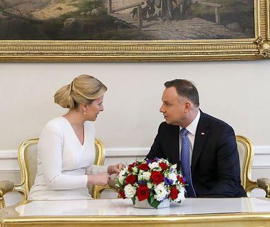 Prezydent Słowacji Zuzana Czaputova w Polsce. Mówiła o Wałęsie i Mazowieckim