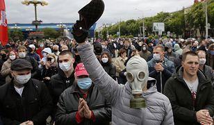 Białoruś. Opozycjonista Siarhiej Cichanouski aresztowany, protesty w całym kraju
