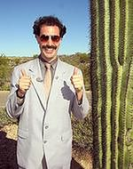 Sacha Baron Cohen jak 'Borat'