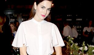 LOOK OF THE DAY: Camilla Belle i trik z dodatkiem