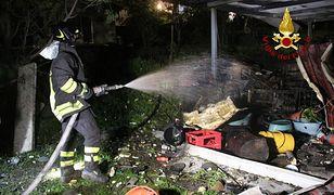 Włochy. Wybuch w fabryce fajerwerków, są ofiary