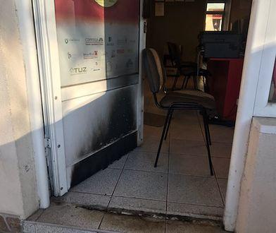 Biuro radnego Andrzeja Radomskiego. W nocy z soboty na niedzielę doszło do próby podpalenia