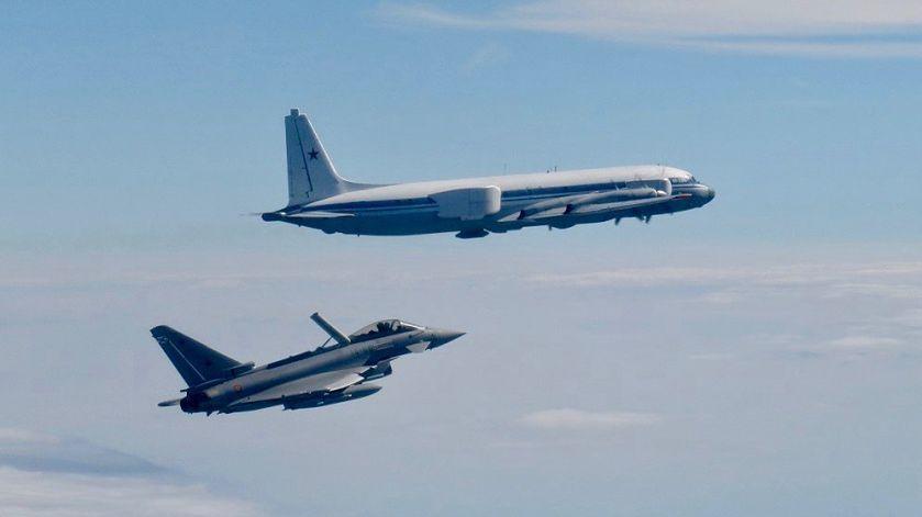 Przechwycenie samolotów nad Bałtykiem fot. NATO Air Command