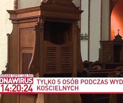 Koronawirus w Polsce. Rzecznik KEP ksiądz Paweł Rytel-Andrianik o słowach lidera Bayer Full