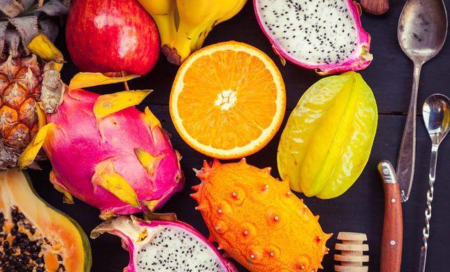 Owoce egzotyczne to bogactwo cennych witamin i minerałów.
