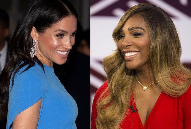 Księżna Meghan i Serena Williams przyjaźnią się