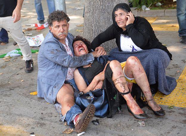 Premier Turcji: 95 zabitych, blisko 250 rannych po zamachu w Ankarze