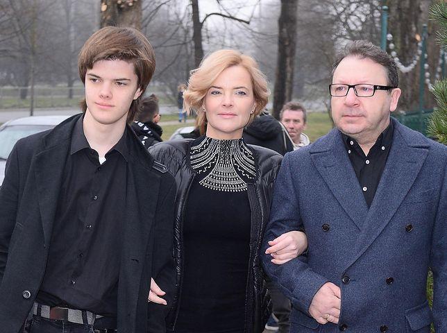Tomasz jest synem Zamachowskiej z poprzedniego małżeństwa