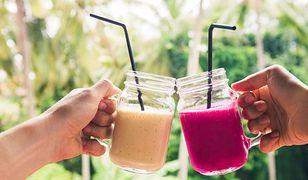 Klasyczny shake to połączenie mleka, lodów i owoców