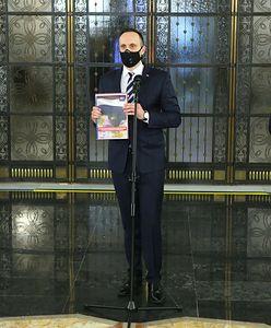 Europoseł PiS Dominik Tarczyński: Piekło zamarzło