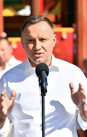 """Wybory 2020. Prezydent Andrzej Duda w Wałbrzychu: """"Będą ataki na moją rodzinę"""""""