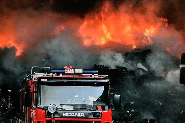 Poprzedni pożar w Zgierzu trwał tydzień