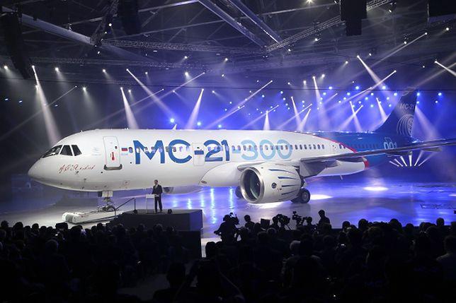 Nowa duma Rosji. Samolot MS-21, który ma przegonić Airbusa i Boeinga