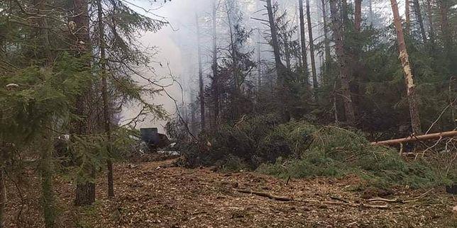 Katastrofa MIG-29. To kolejny wypadek tego samolotu w Polsce