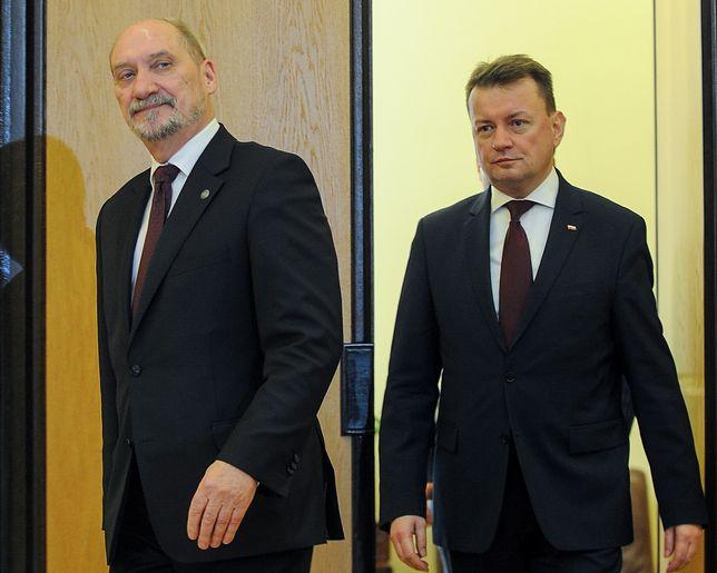 Na stanowisku szefa MON Antoniego Macierewicza zastąpił Mariusz Błaszczak