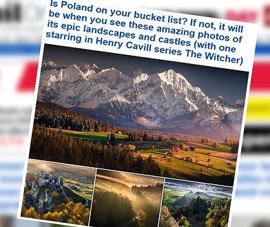 """""""Daily Mail"""" zachęca do odwiedzenia Polski. Pokazuje, jak piękny jest nasz kraj"""