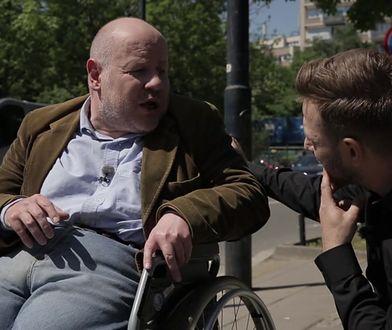 Niepełnosprawny senator PO tłumaczy, dlaczego nie poszedł do protestujących w Sejmie