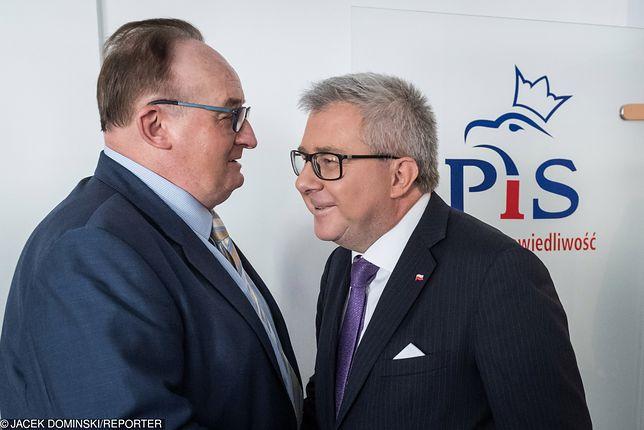 Ryszard Czarnecki skomentował potencjalną zmianę Jacka Czaputowicza na Jacka Saryusza-Wolskiego