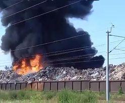 Płonie hałda w Wielkopolsce. Niedawno ją gasili. To 5 pożar w tym roku