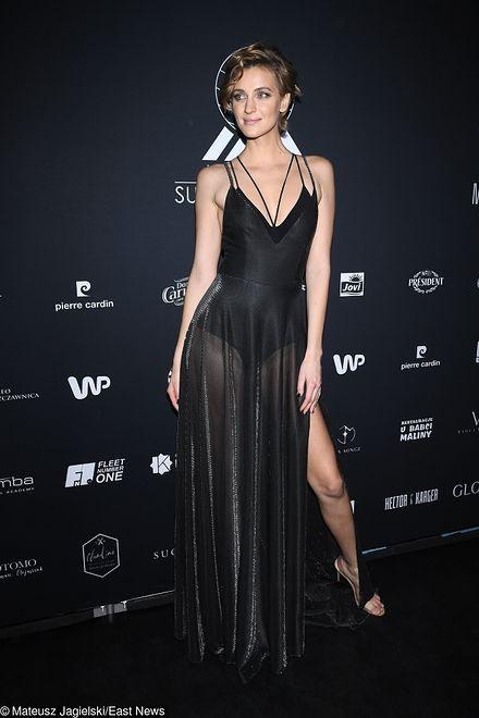 Renata Kaczoruk podczas gali Miss Polski 2018