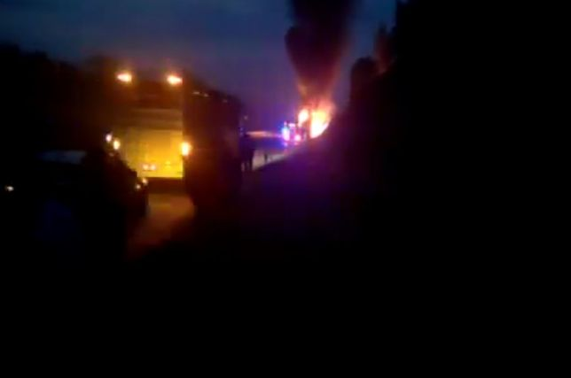 Autokar wiozący polskich pielgrzymów spłonął w drodze z Medjugorie