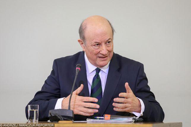 Jacek Rostowski, były minister finansów.