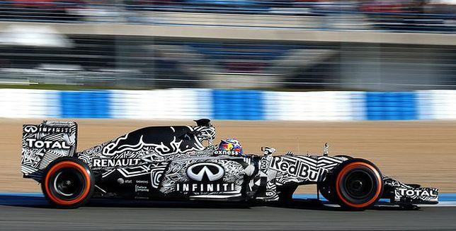 Prezentacja nowego bolidu Infiniti Red Bull Racing - RB11